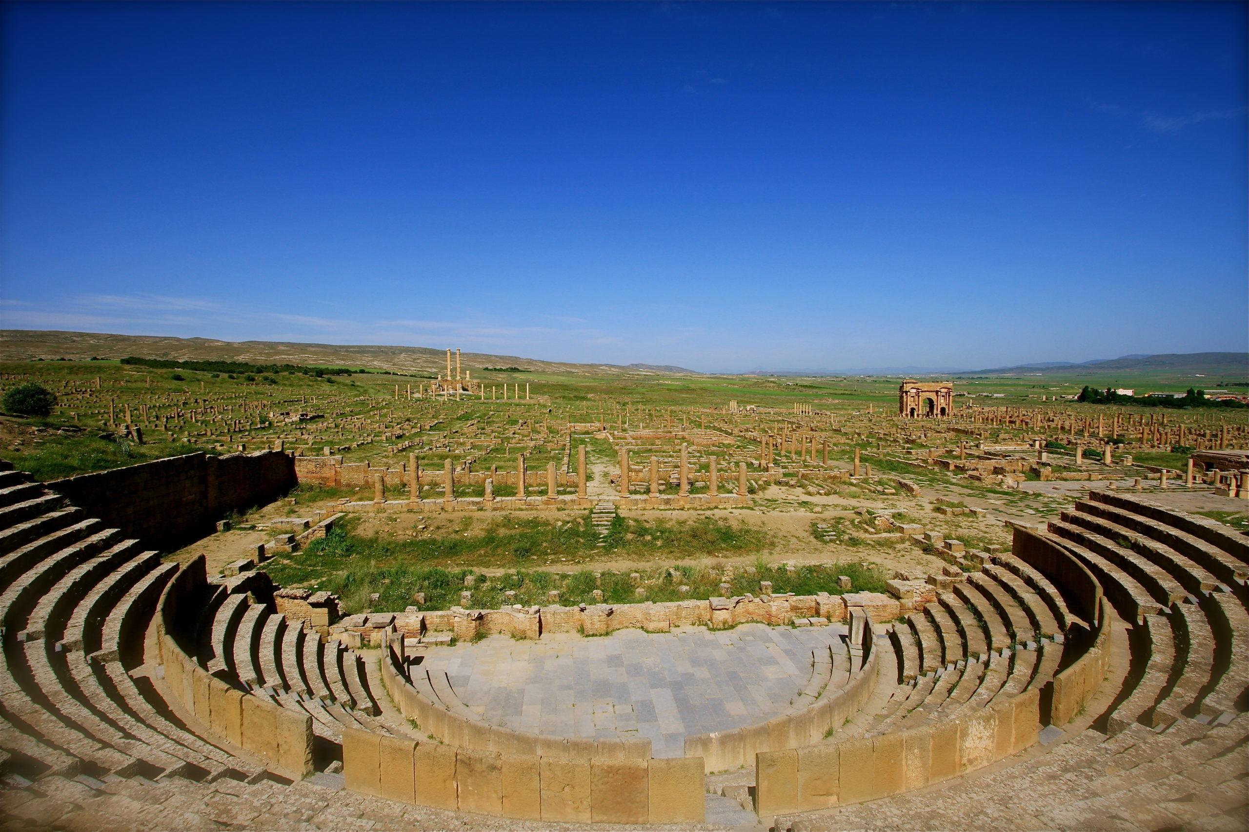 Theatre of Timgad Algeria